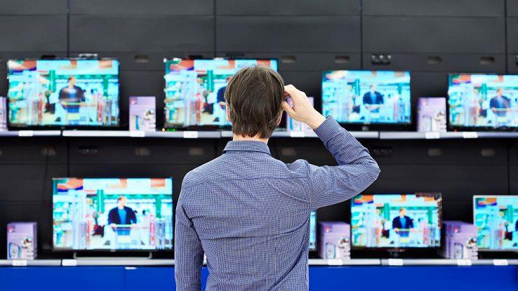 tv supermercato