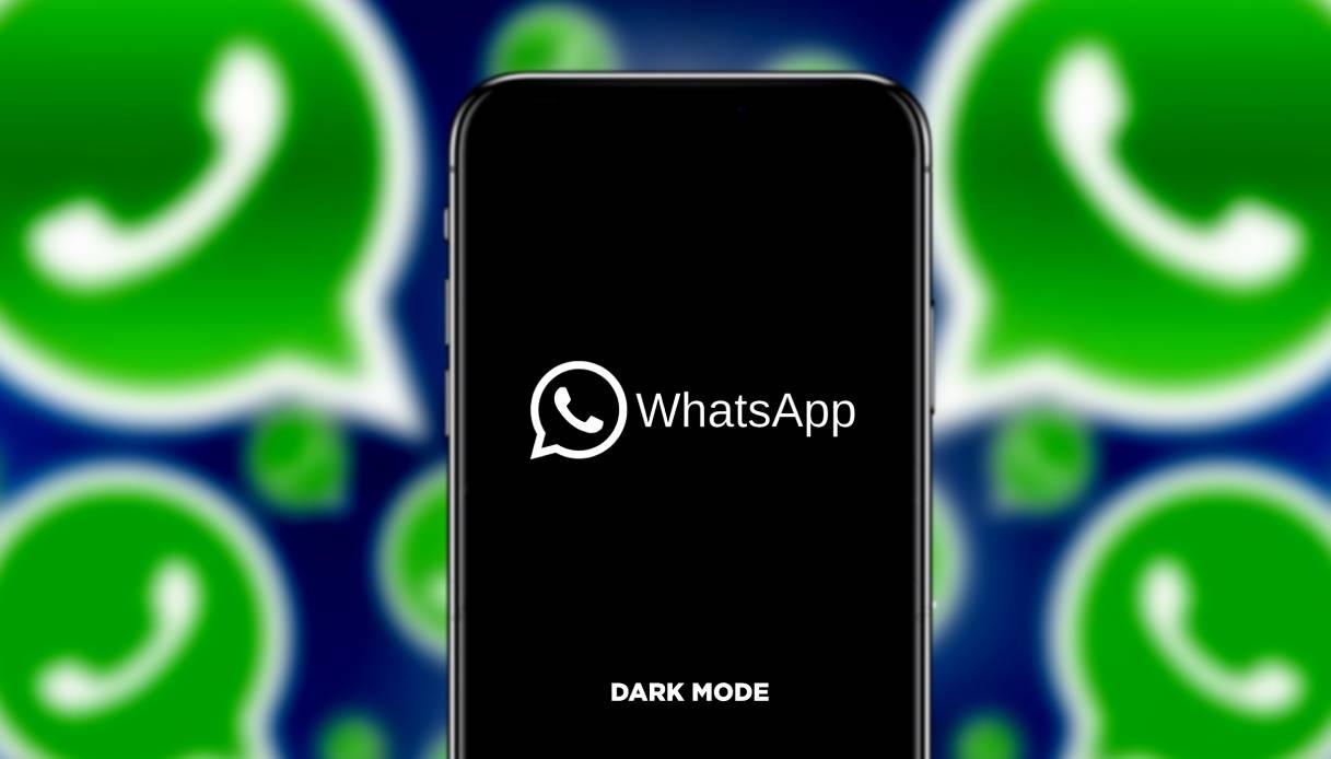 WhatsApp, arriva la modalità scura sull'iPhone: come si attiva ...