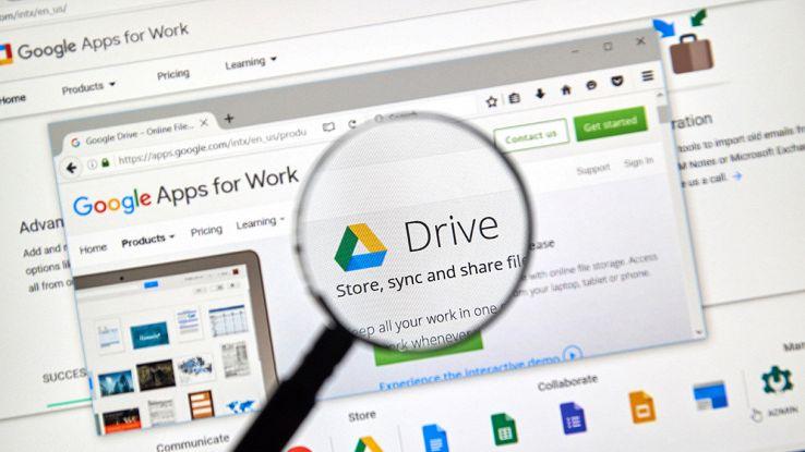 google drive, l'accesso