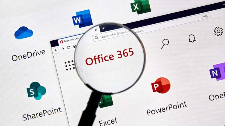 Homepage di Office 365