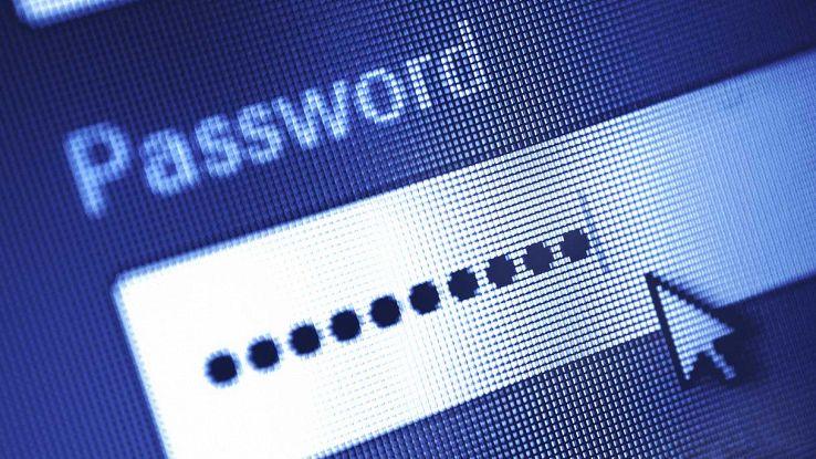Password inserita in un browser