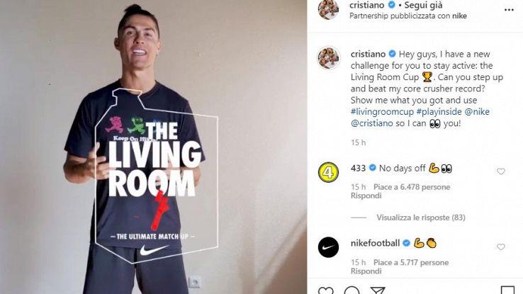 cristiano ronaldo living room cup