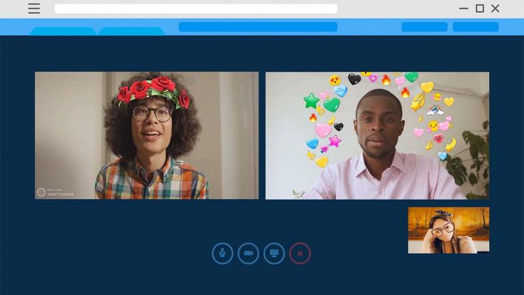 Snap Camera, i filtri per videochiamate di lavoro e con amici