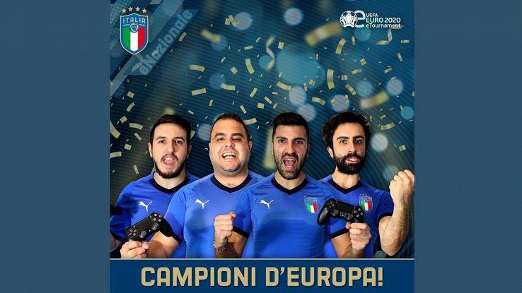 nazionale italiana pes 2020