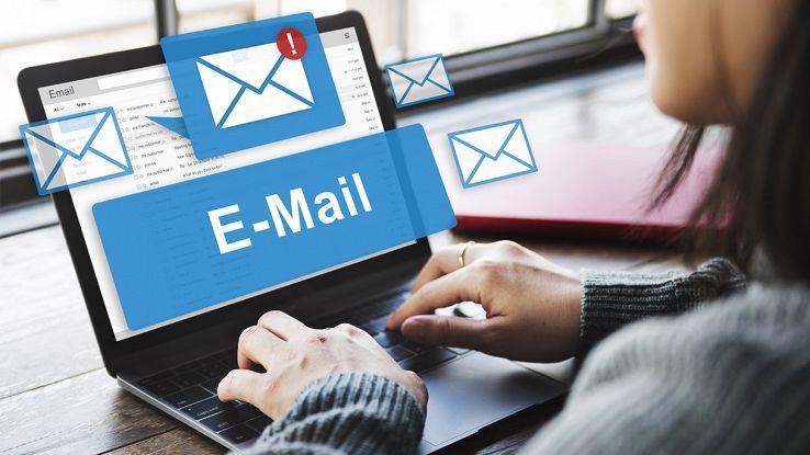 come recuperare l'email