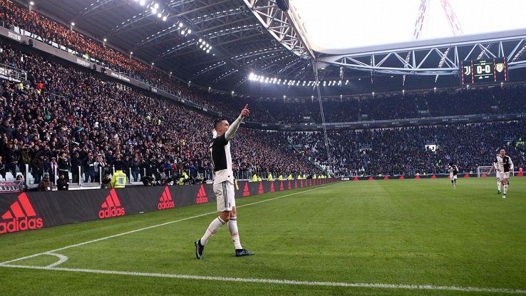 ciristiano ronaldo juventus stadium