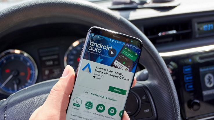 android auto bmw