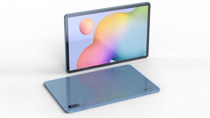 render galaxy s7 tab