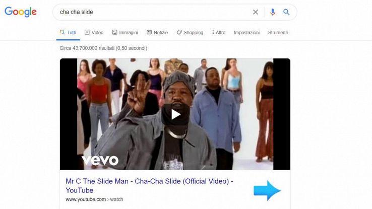 cha cha slide google