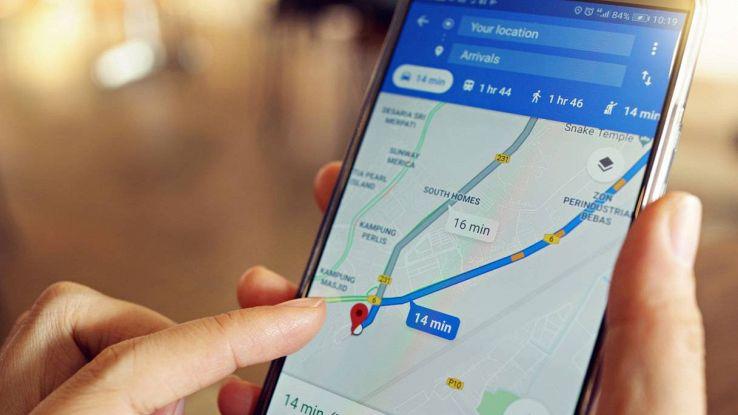 Google Maps funzione semafori