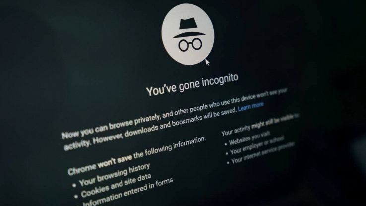 modalita incognito browser