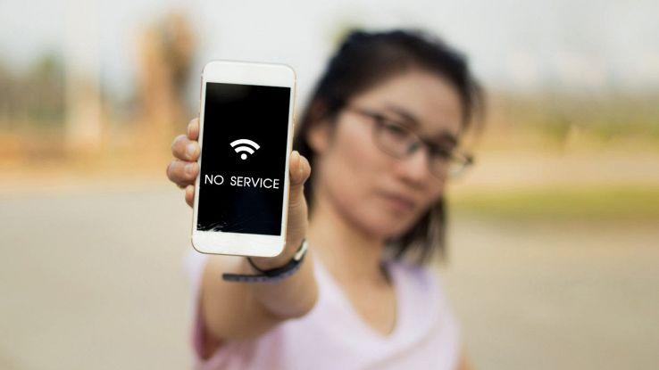 connessione internet down
