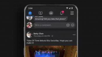 facebook android dark mode