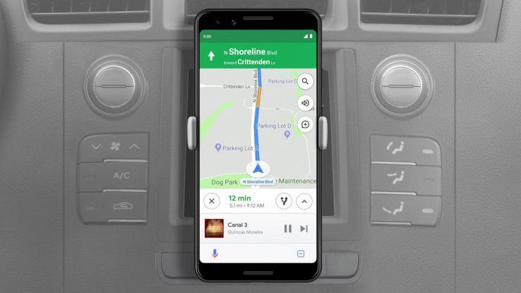 google assistant modalità alla guida