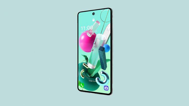 smartphone lg k92 5g
