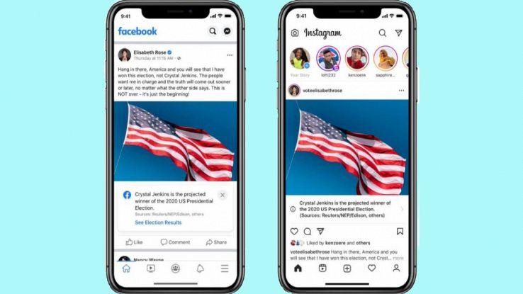facebook instagram elezioni usa