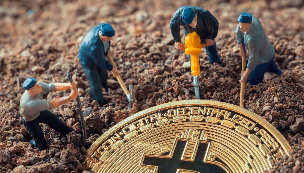 mining dei bitcoin