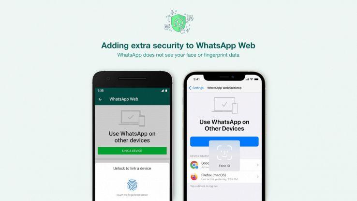 whatsapp web biometria