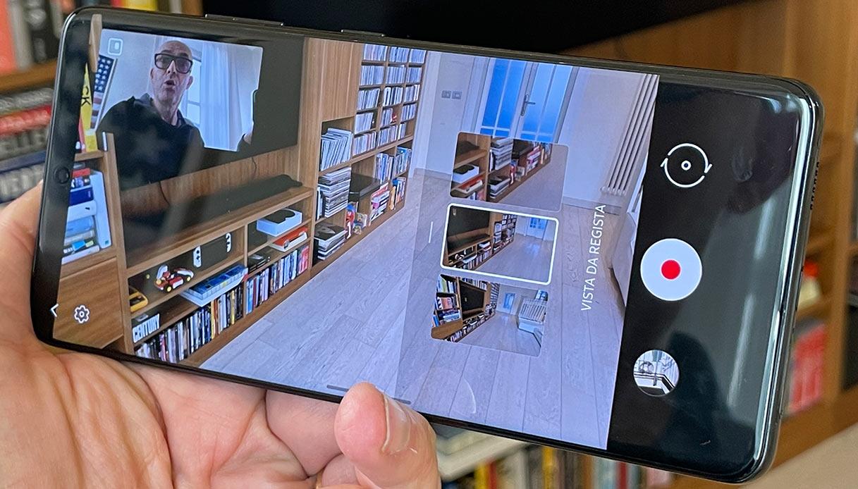 Galaxy S21 Ultra, filmati in 8k