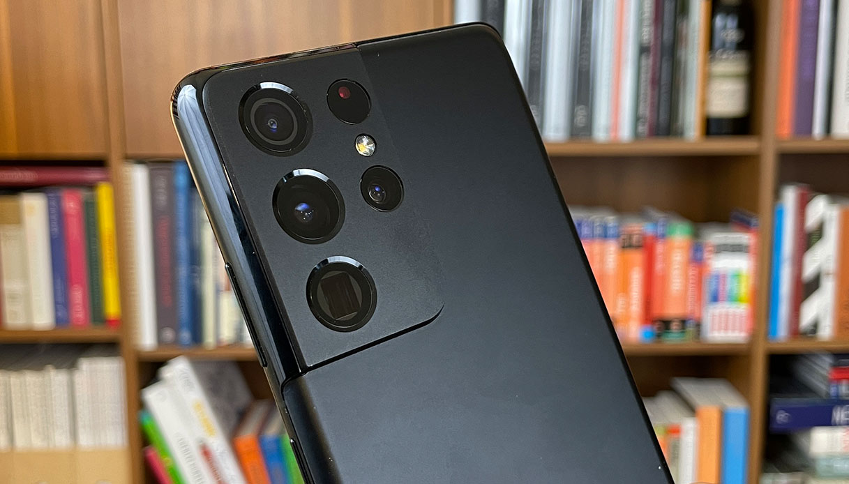 La fotocamera del Samsung Galaxy S21 Ultra