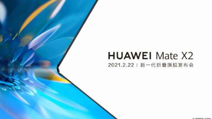 huawei mate x2 smartphone pieghevole