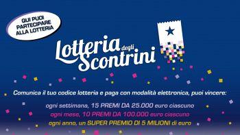 lotteria degli scontrini locandina
