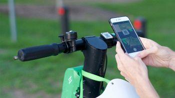 L'app Lime per noleggiare i monopattini
