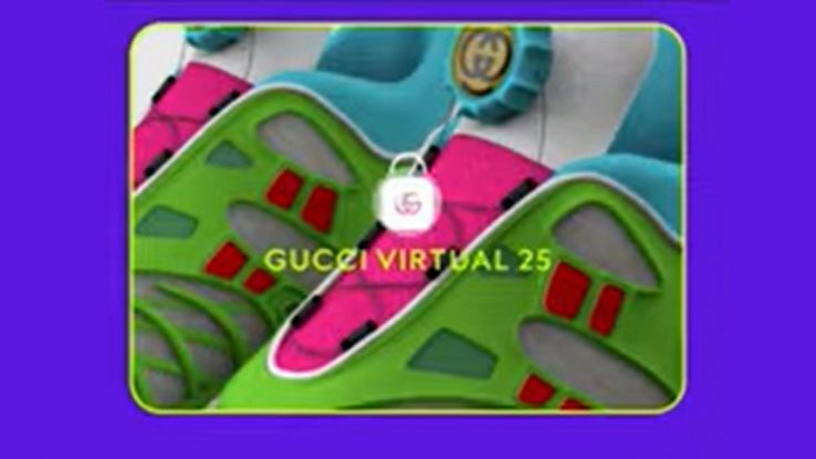 sneaker virtual 25 gucci