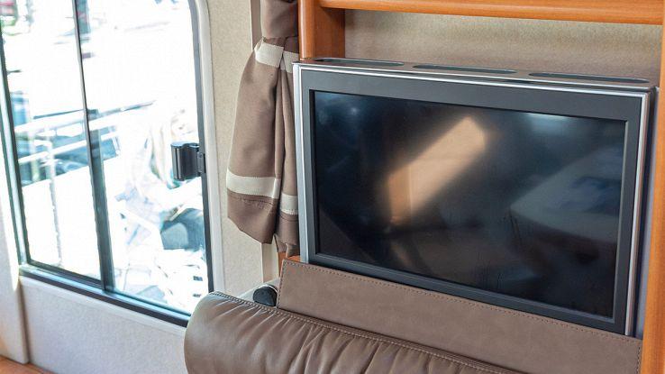 come scegliere la tv per il camper