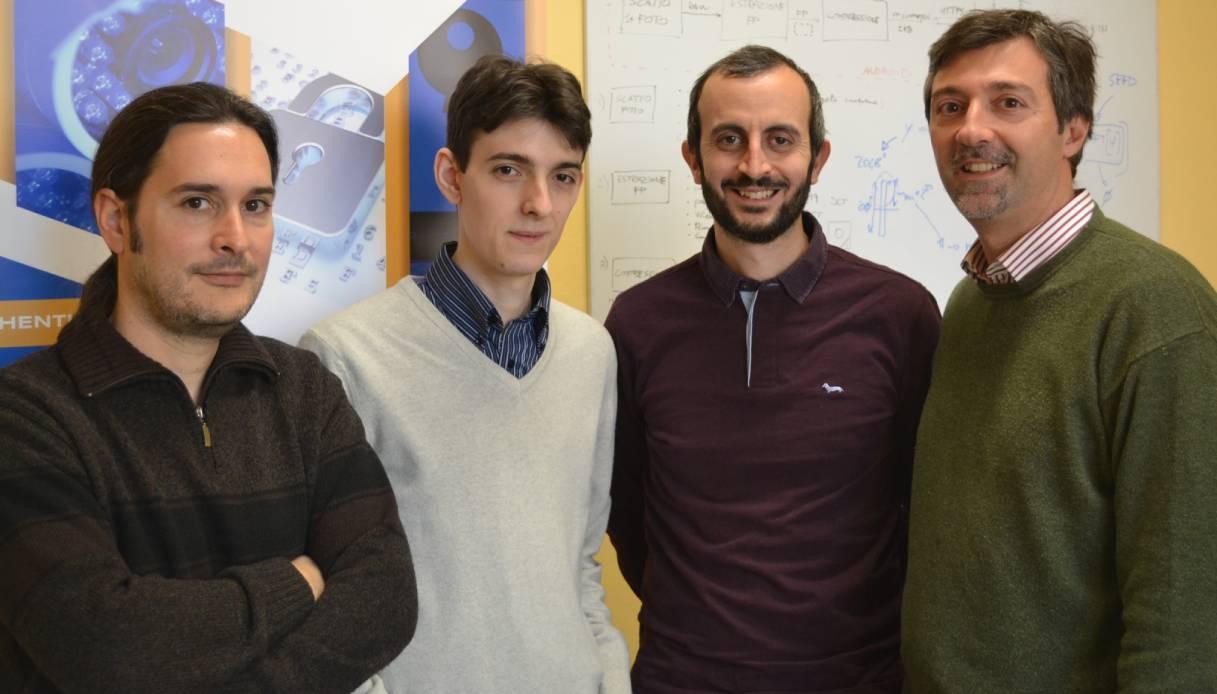 I quattro fondatori di ToothPic