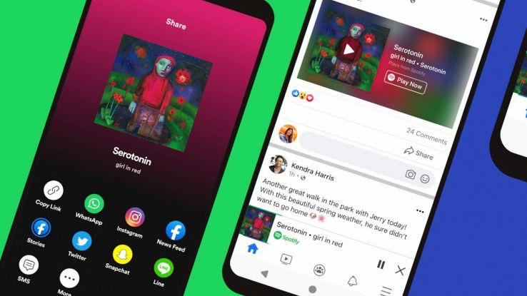 spotify miniplayer facebook