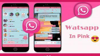 whatsapp pink app virus