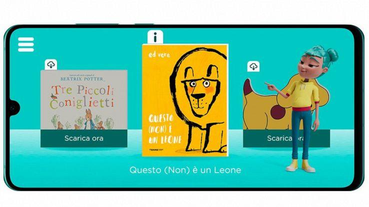 app storysign huawei bambini sordi