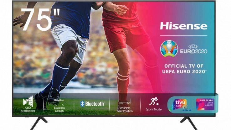 smart tv hisense 4k