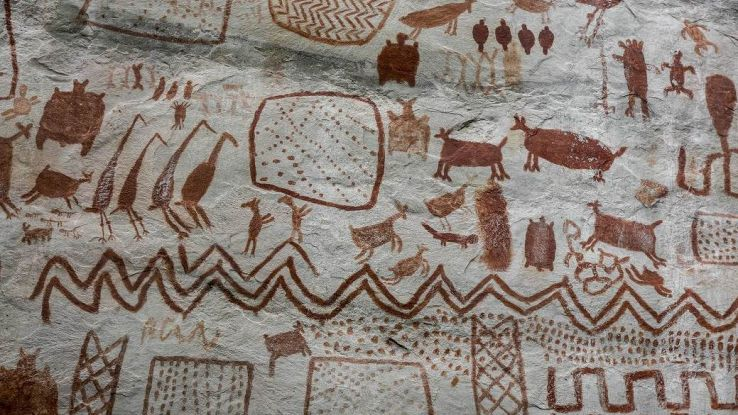 Dipinti rupestri in Indonesia