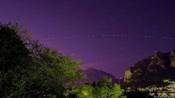 Costellazione satelliti a Lecco
