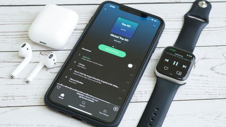 spotify su apple watch