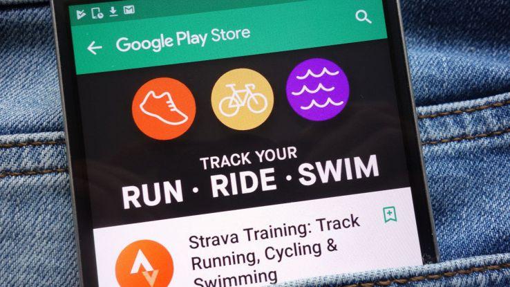 strava app ciclisti