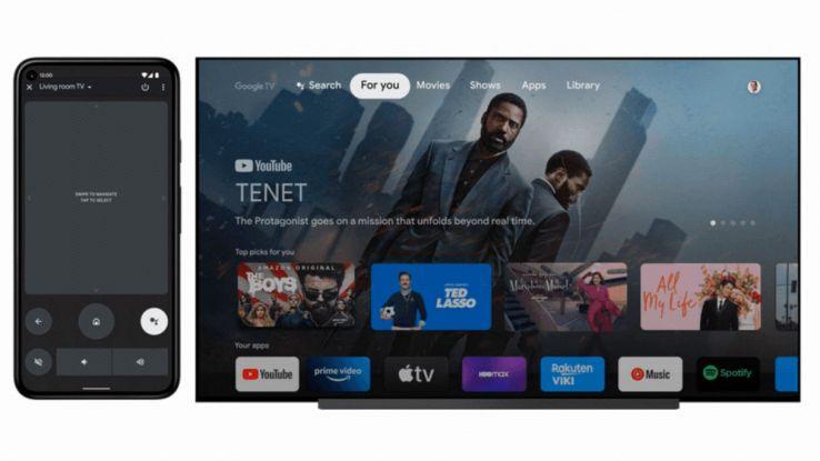 telecomando universale per android tv