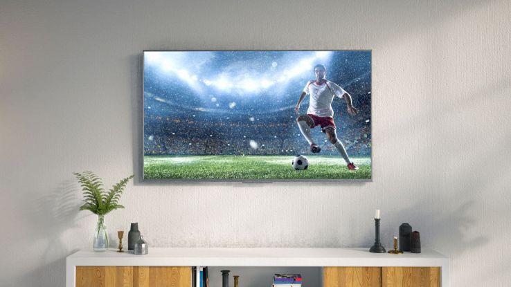 tv a muro
