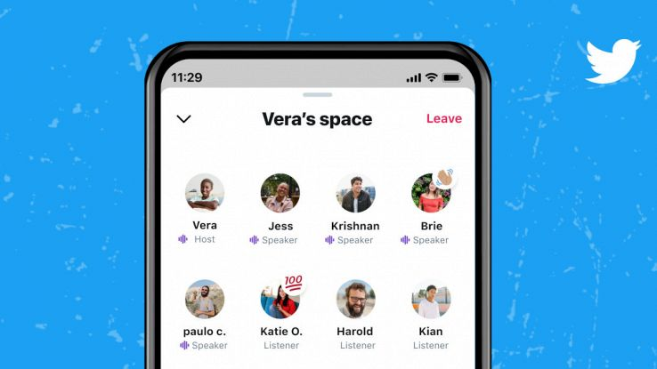 twitter spaces chat audio