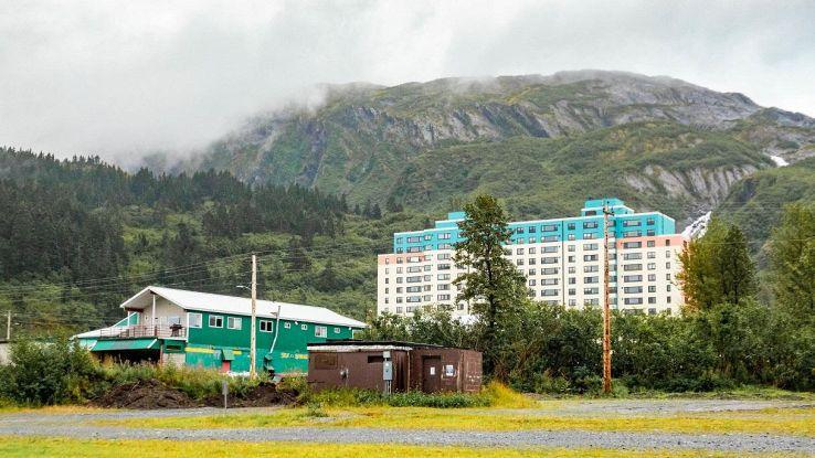 Whittier città in Alaska