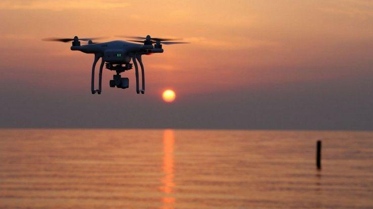 droni e robot anti plastica