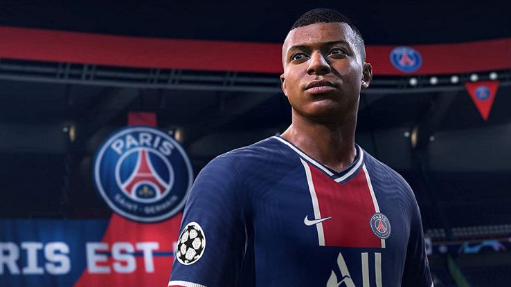 Mbappe in Fifa 21