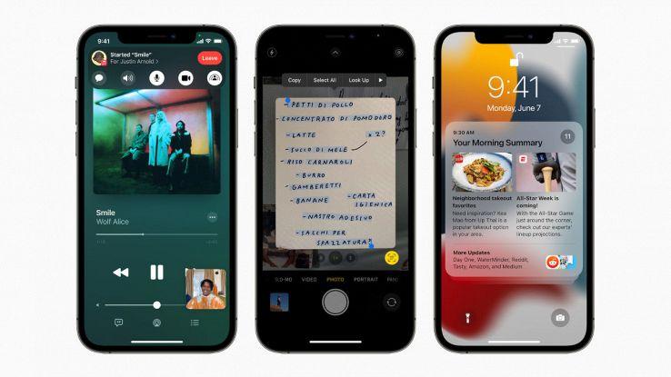 apple ios 15 per iphone