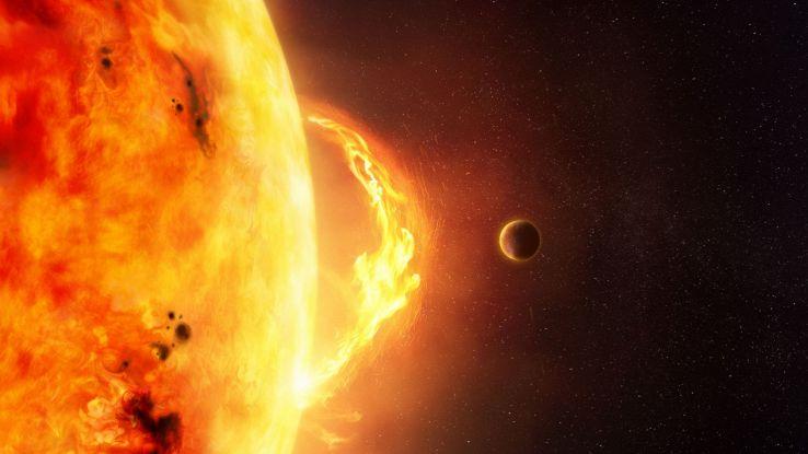 Un misterioso oggetto lampeggiante è stato rilevato al centro della nostra galassia