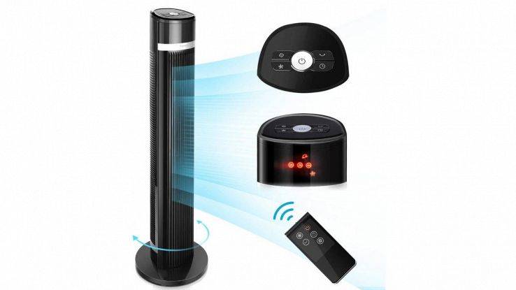 ventilatore digitale aigostar ross