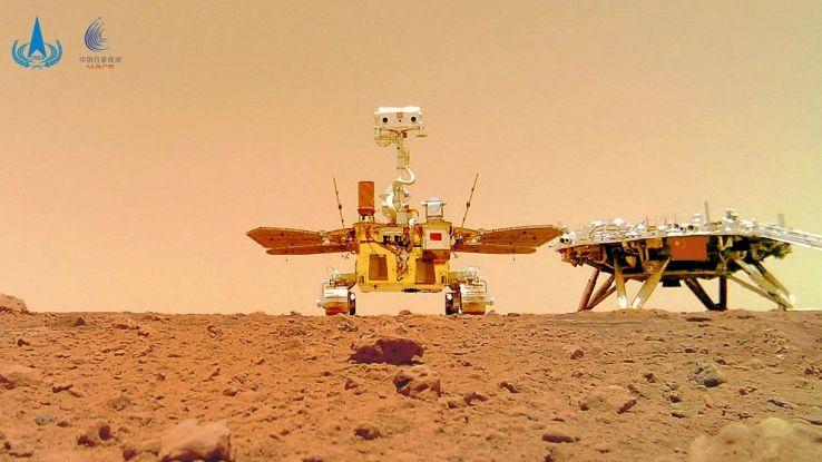 Colonizzare Marte, spunta il rivale di Elon Musk: si tratta della Cina