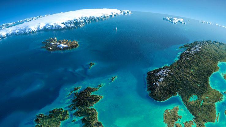 L'Islanda potrebbe essere la punta di un continente sommerso