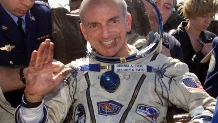 Il turismo spaziale inizia con Dennis Tito, nel lontano 2001